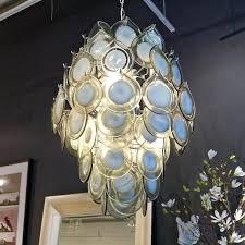 diva chandelier grey regina andrew maison