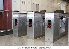 subway station turnstile. Modren Subway Turnstile At Subway Station  Csp4525604 Intended Subway Station
