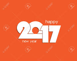 flyers numbers 2017 new year numbers design for your greetings card flyers