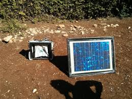 solar phone charging station first time working