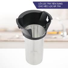 Ấm siêu tốc 1.8 lít bình siêu tốc thủy tinh LEBENLANG từ Đức gồm lõi lọc  trà bằng inox, bảo hành 2 năm - LBE2819 giá cạnh tranh