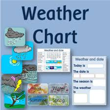 Daily Weather Chart And Calendar