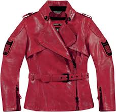 icon 1000 federal womens jacket jackets leather red
