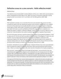 rolfe reflective model in nursing essay nmih art and  rolfe reflective model in nursing essay