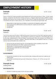 shopping - Boilermaker Resume