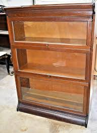 antique bookcases with glass doors 3