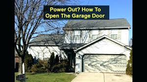 can you open garage door with broken spring how to open garage door manually with broken spring simple garage door opener remote minimotosandmore com how
