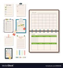 Agenda List Agenda List Business Paper Clipboard In