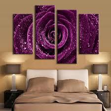 aliexpresscom  buy  pcsset combined flower paintings purple