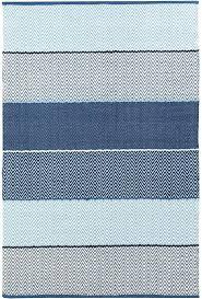 cotton flat weave rugs cotton flat weave rug cotton rug in blue striped cotton flat weave