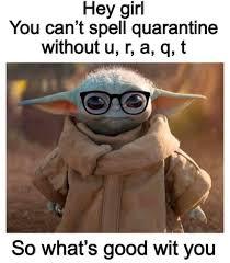 I laughed way tooooo hard on this - BabyYoda | Yoda funny, Yoda meme,  Really funny memes