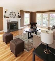 Living Room With Light Wood Floor