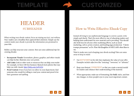 Ebook Template How To Create An Ebook From Start To Finish Free Ebook
