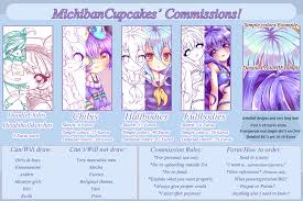 commission sheet commission info sheet closed by miichau on deviantart