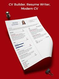 Resume Template Resume Builder Cover Letter For Android Apk Download