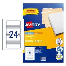 File Folder Organisation Labels Avery Australia