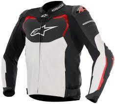 alpinestars mens gp pro airflow armored leather jacket black
