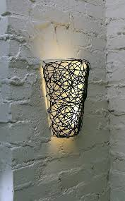 endearing battery wall sconce lighting lights regarding picture operated plan powered led light switch with remote bat