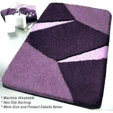 lofty ideas purple bathroom rugs gorgeous dark bath rug inside plans 15 ikea runner throw