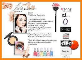 makeup artist bio exles red dot5 jpg
