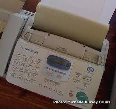how does a fax machine work explain that stuff basic home fax machine