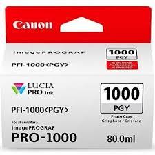 <b>Canon PFI</b>-<b>1000 Photo</b> Gray Ink Tank #PFI-1000-<b>PGY</b> - Royal <b>Photo</b>