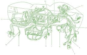 2002 mustang wiring diagram carlplant 2002 ford mustang radio wiring diagram at 2002 Mustang Wiring Harness Diagram