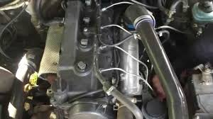 KZJ70 engine swap to mechanical 1KD-FTV - YouTube
