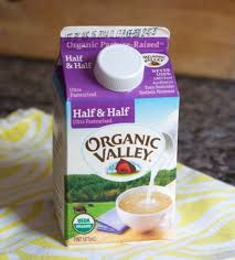 Image result for organic valley half and half