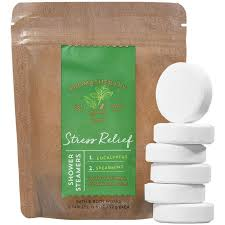 bath works aromatherapy eucalyptus and spearmint steamer tablets