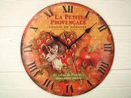 Reloj De Cocina Decorado
