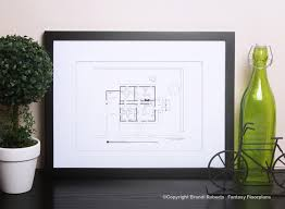 fantasy floorplan for family guy residence of lois and peter griffin 1st floor