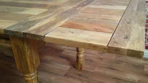 dining table natral finished