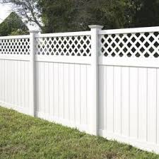 vinyl lattice fence panels. Simple Vinyl White Vinyl Lattice Top Fence Panel Kit73006453  The Home Depot 119 Panel Throughout Panels E