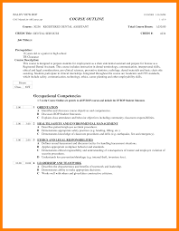 Dental Assistant Resume 100 dental assistant resume objectives nurse homed 49