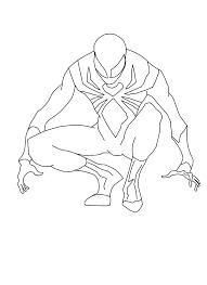 Kleurplaat Spiderman Homecoming Spider Man Ausmalbilder Malvorlagen