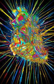 electronic heart gif