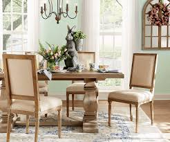 Incredible winter living room design ideas for holiday spirit Christmas Tree Dining Table Set With Easter Plates Flowers And Rabbit Statue The Home Depot Holiday Decorations The Home Depot