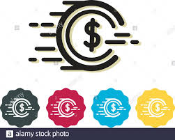 Spending Power - Coin Icon as EPS 10 File Stock Vector Image & Art - Alamy