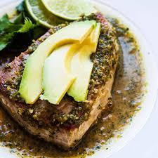 Seared Tuna with Avocado Recipe