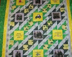 John Deere Quilts – boltonphoenixtheatre.com & John Deere Quilt Pattern Free John D Quilt Country Quilt Tractorsyellow And  Greenfarm Style Quilt John Adamdwight.com