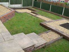Small Picture Simon Cunliffes garden design with railway sleepers LGB trains