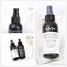 dhl nyx dewy finish matte finish makeup setting spray long lasting setting spray 60ml face beauty nyx dewy spray face beauty with 2 99 piece on