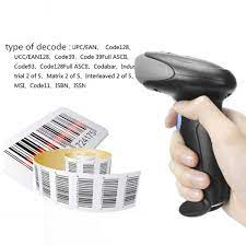 HZTZ kablosuz barkod tarayıcı USB kablolu/2.4G kablosuz 1D barkod okuyucu  envanter POS terminali|Scanners