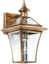 color brass lamp