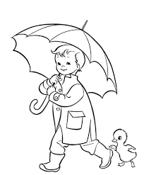 Small Picture Umbrella Coloring Pages Preschool Coloring Pages for Kids