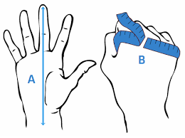 how to measure hand size for gloves define your size bbb cycling