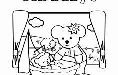 Kleurplaat Geboorte Geïnspireerd Baby Geboren Kleurplaat Archidev