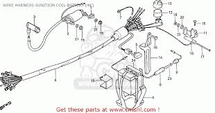 honda cd70b general export type 4 wire harness ignition coil wire harness ignition coil battery 4k schematic