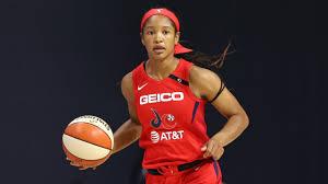 Stella Johnson Scores 25 Points In Mystics' Win (August 19, 2020) - YouTube